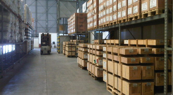 Industrial Storage Firm in London